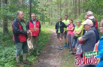 Wandern mit den Naturvermittlern